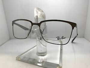 d11e401fce7 Image is loading RAY-BAN-RB6344-RX-6344-2553-TOP-SILVER-