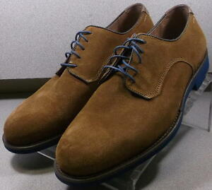 204370 MS50 Men's Shoe Size 10 M Brown Suede Lace Up Johnston & Murphy