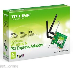 TP-Link-TL-WN881ND-300Mbps-Wireless-Wifi-N300-PCI-Express-Adapter-Network-Card