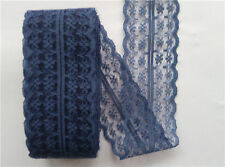 Beautiful 10-yard  Navy blue  lace ribbons DIY clothing accessories decoration