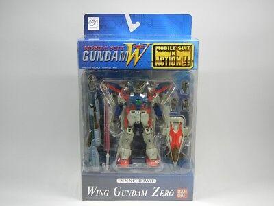 """MSIA Gundam W  /"""" XXXG-00W0 Wing ZERO Gundam Hong Kong ver /"""" Figure Bandai Gold"""