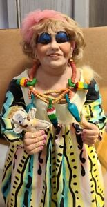 One of a Kind - Mimi (Drew Carey Show) Resin Doll by Linda Kays - Signed 1997