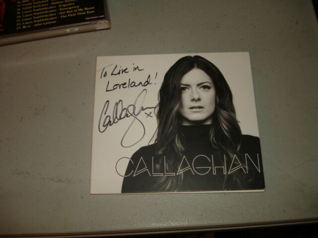 Callaghan - Self-titled SIGNED (CD, 2018) Rare, EX