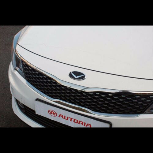 V Style EAGLE Oval Front Rear Emblem 2Pcs For KIA All New K5 Optima 2016+