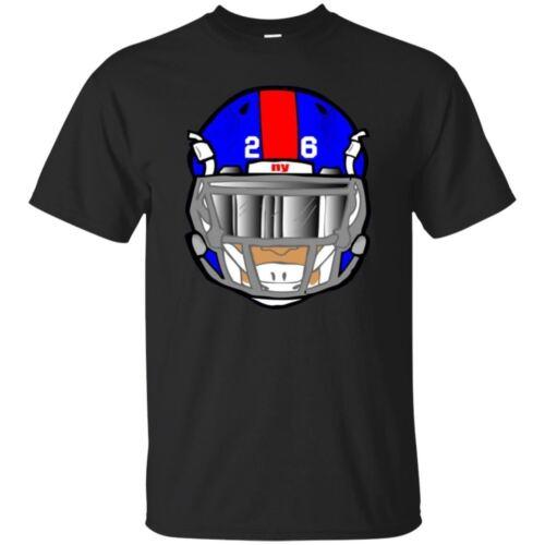 Saquon Barkley T-shirt Saquon 26 New York Giants Men/'s Tee Shirt Short Sleeve