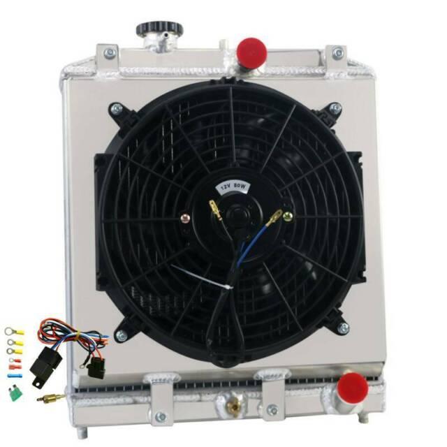 ALUMINUM RADIATOR +Shroud Fan For 1992-2000 1999 Honda