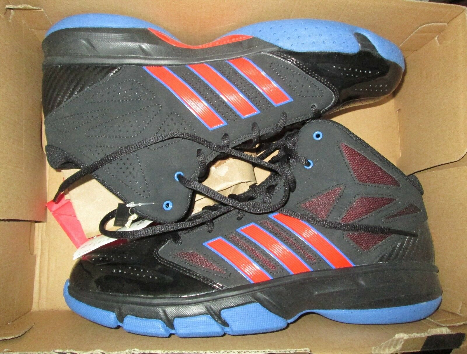 ADIDAS CROSS EM 2 basketball sneakers shoes men's US size 10.5 NEW