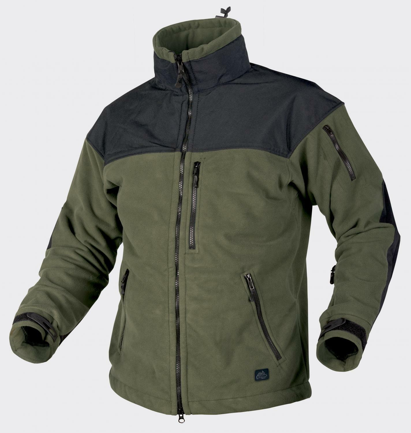 HELIKON tex Classic Army viento Locker outdoor Fleece chaqueta verde oliva negro XL