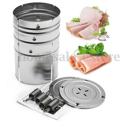 Homemade Stainless Steel Ham Patty Press Maker Specialties Meat Poultry Seafood