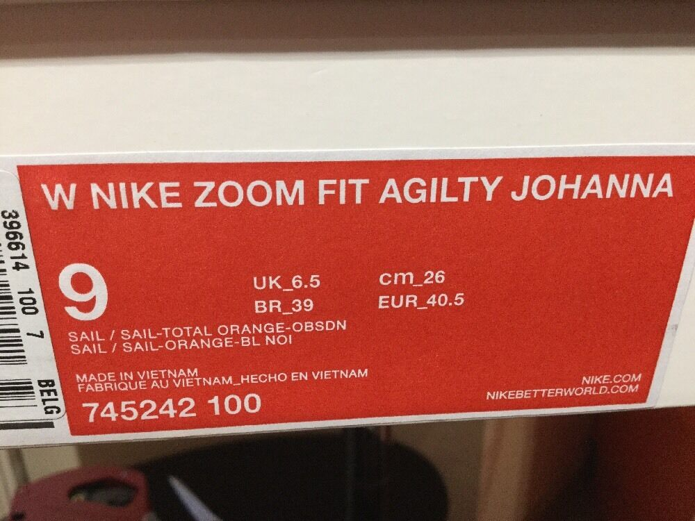 Nike Lab Zoom Johanna Fit Agilty Johanna Zoom Schneider  745242 100  Uk Größe 6.5 ae60b8