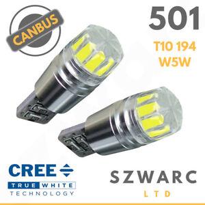 Brillante-Luz-Lateral-LED-Canbus-501-194-W5w-T10-SMD-Bombillas-Blanco-Super-194-801-Reino-Unido