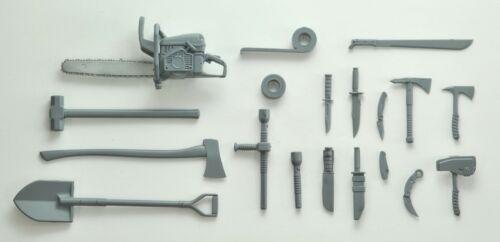 Melee Weapons Set A 1//12 Plastic Model LD026 LittleArmory