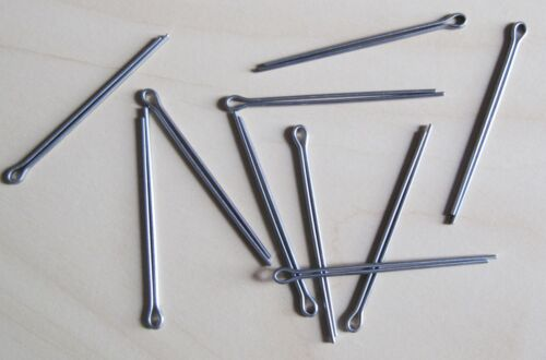 """5//64/""""x11//2/"""" Qty 10 Split Cotter Pins Stainless 2.0x40"""