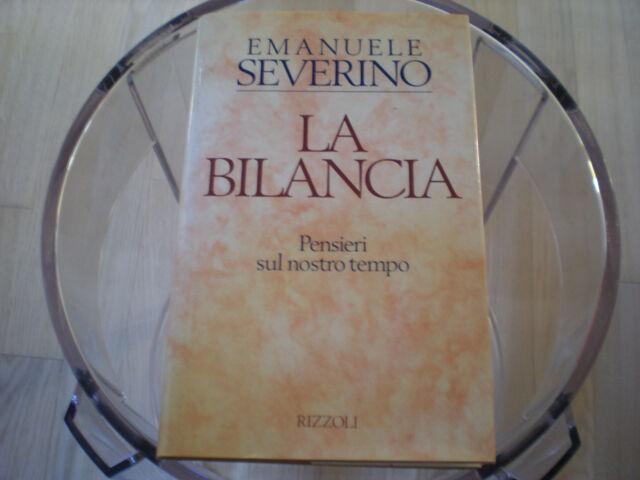 La Bilancia Emanuele Severino
