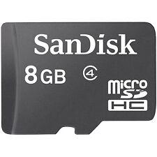 Lot 5 Pcs 8G SanDisk MicroSDHC Micro SD SDHC Memory Card 8GB 8 8 GB Class 4 US