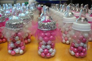 Image Is Loading Ballerina Tutu Baby Bottle Favors For Baby Shower