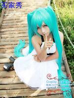 Vocaloid Hatsune Miku Show Ponytails Anime Cosplay Wig (60~120cm)