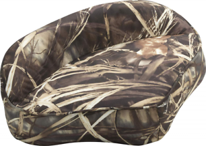 Attwood 98505CA Casting Fishing Boat Seat Camouflage Vinyl Finish
