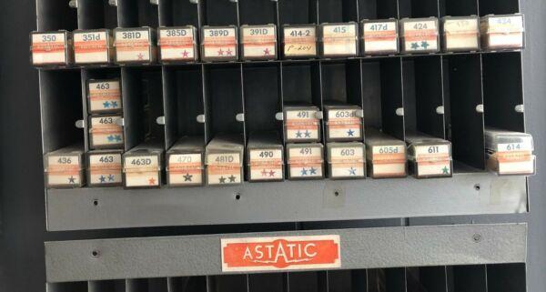 Vintage Nos Astatic Turntable Record Player Replacement Cartridge/needle # 381d Om Het Lichaamsgewicht Te Verminderen En Het Leven Te Verlengen