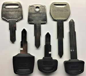 Honda-Scooter-Keys-Cut-to-Code-Replacement-Spare-New-Ignition-precut-Key