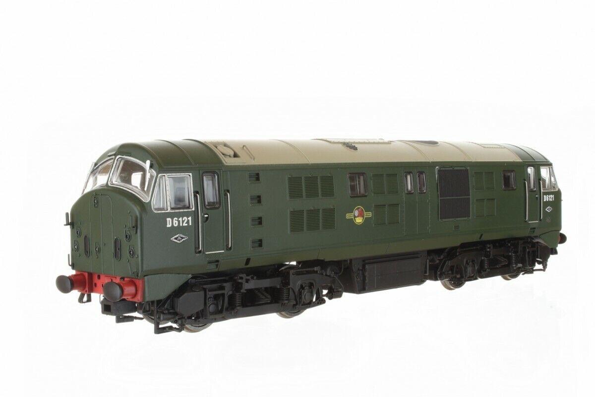 DAPOL 4D025001 classe 21 BR verde D6121 BR verde with Headcode Discs nuovo