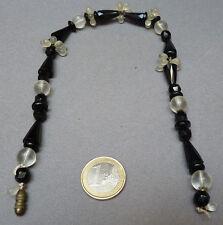 Collier avec perles de cristal taillé Vers 1930 ART DECO