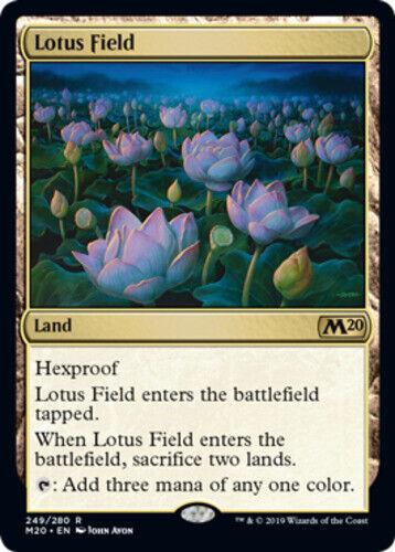 Lotus Field x1 Magic the Gathering 1x Magic 2020 mtg card