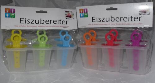 * eiszubereiter 12 x stieleisformer OVP hielo soporte nuevo niños