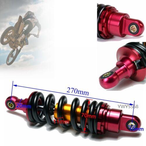 2pcs  270mm Rear Shock Suspension for SSR Taotao 110 125cc klx ttr Dirt Bike US