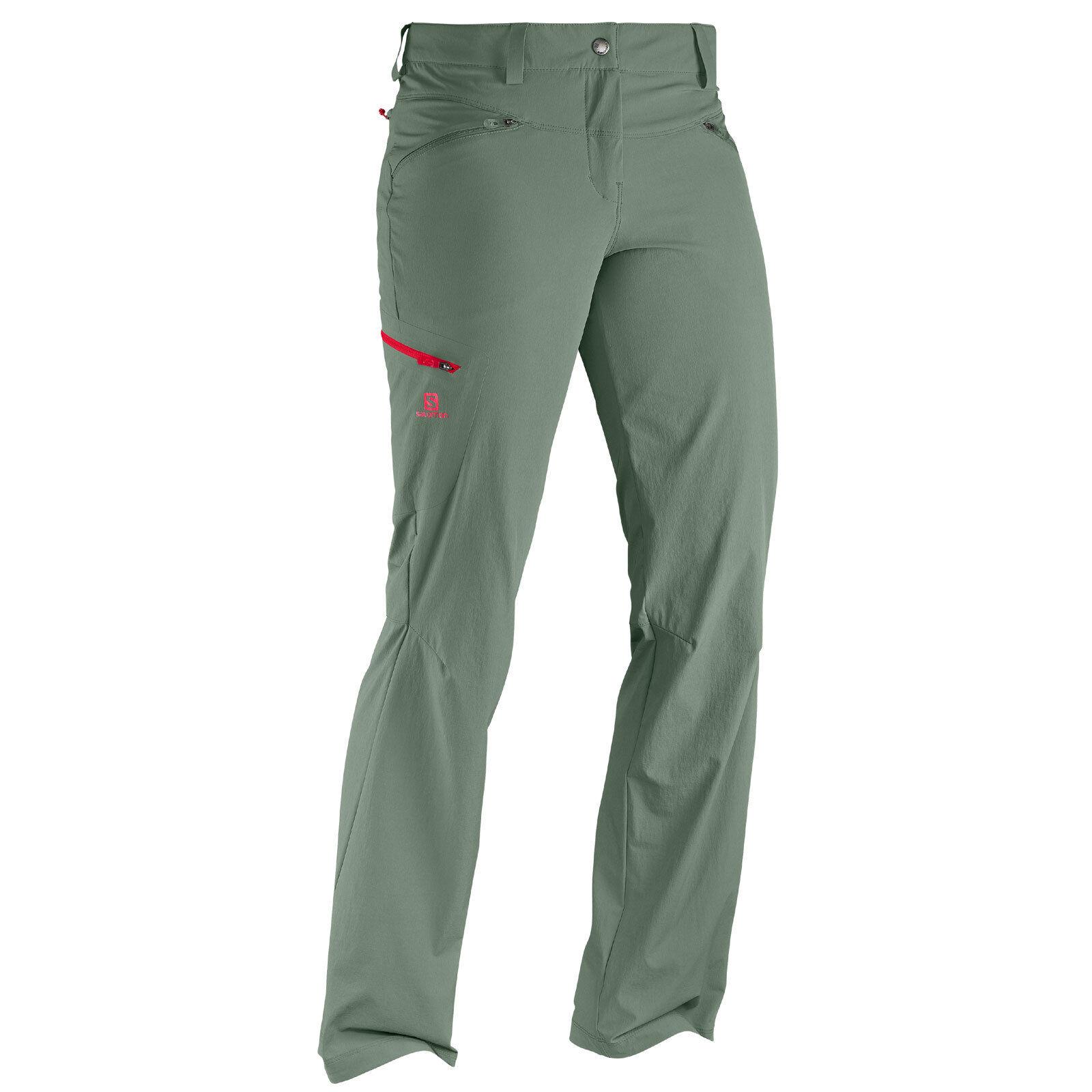 Salomon Wayfarer Pant Pant Pant damen Hiking Outdoor Trousers Functional 8cfb2e