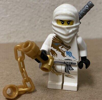LEGO NINJAGO Zane DX dragon Extrême Costume Figurine from set 2260