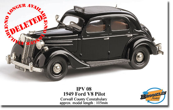 BROOKLIN FORD PILOT CORNWALL CONSTABULARY  1 43