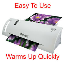 Scotch Thermal Laminator Laminating Machine 2 Roller System Pouches