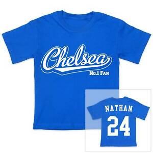 abbigliamento calcio Chelsea personalizzata