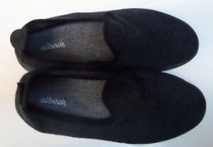 Allbirds Wool Loungers Women's Shoes Natural Black W/ Black Sole Size 8
