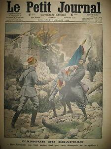 L-039-AMOUR-DU-DRAPEAU-MONT-SAINT-ELOI-ALPINS-ITALIENS-TRENTIN-LE-PETIT-JOURNAL-1915