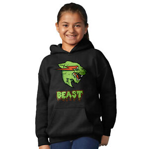 Details about Kids Mr Beast Zombie Hoodie, ZOMBEAST Youtube Merch, MrBeast  hoodie Pullover