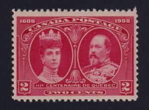 Canada-Sc-98-1908-2c-carmine-Quebec-Tercentenary-Mint-VF-NH