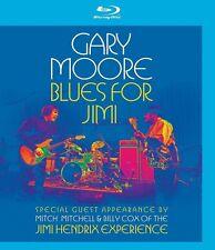 GARY MOORE - BLUES FOR JIMI (BILLY COX, MITCH MITCHELL,...)  BLU-RAY NEU