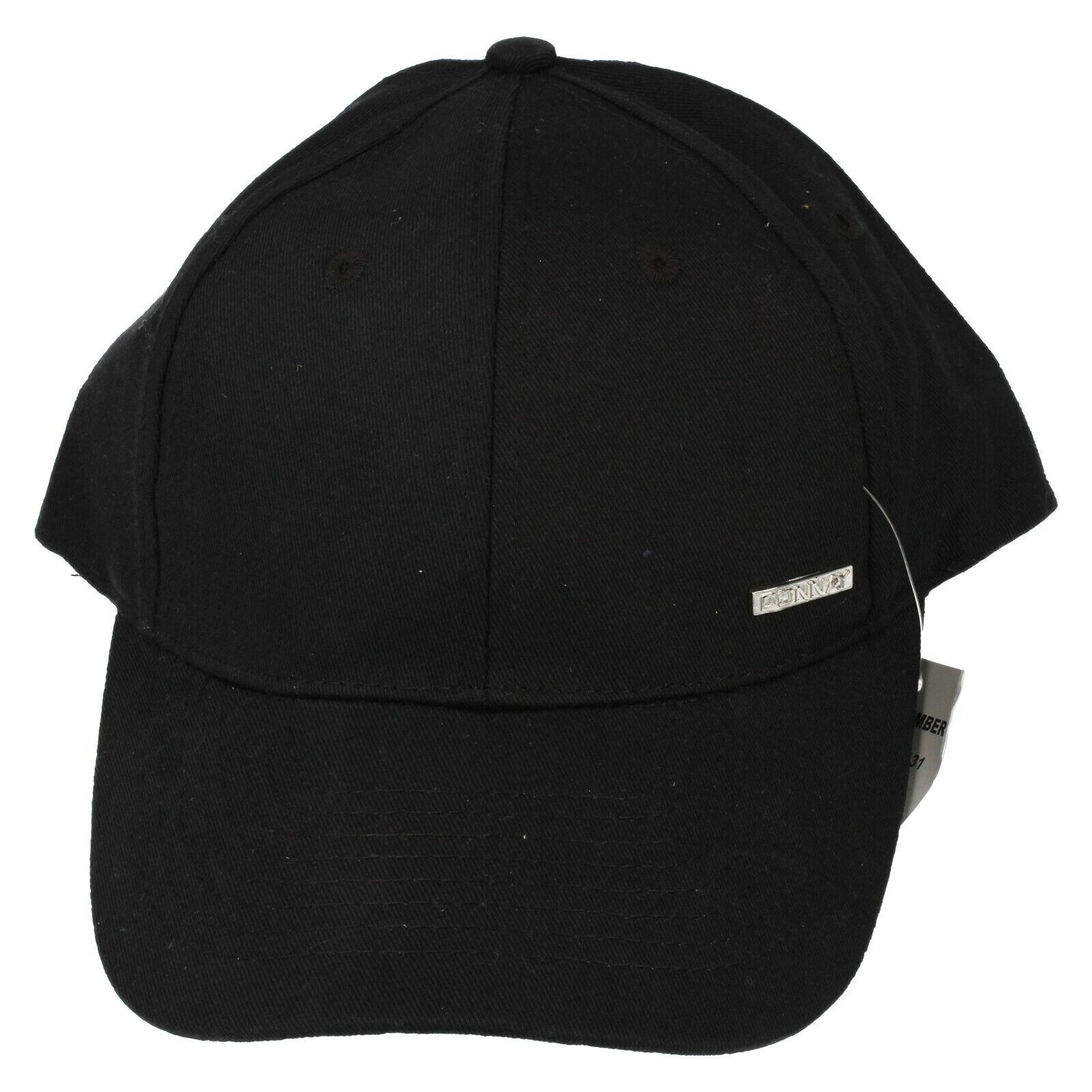 Erwachsene Donnay Schwarz Hut / Schirmmütze: 71D002/DAW131