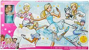 Calendrier de l'avent Barbie Fgd01 887961501681