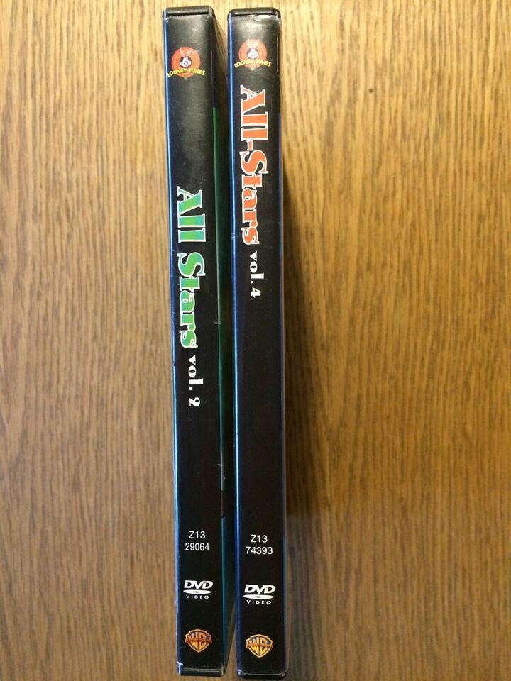 Looney Tunes All Stars vol. 2 & 4, DVD, animation