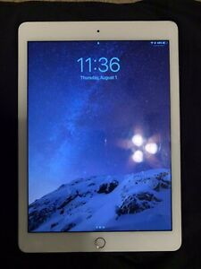 Apple-iPad-Air-2-64GB-WiFi-Only-Silver-slightly-used-iPad-ONLY