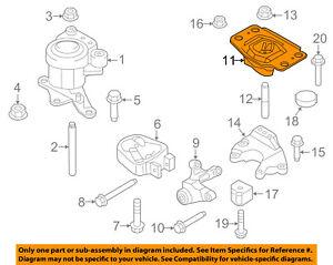 image is loading ford-oem-13-16-fusion-engine-motor-transmission-