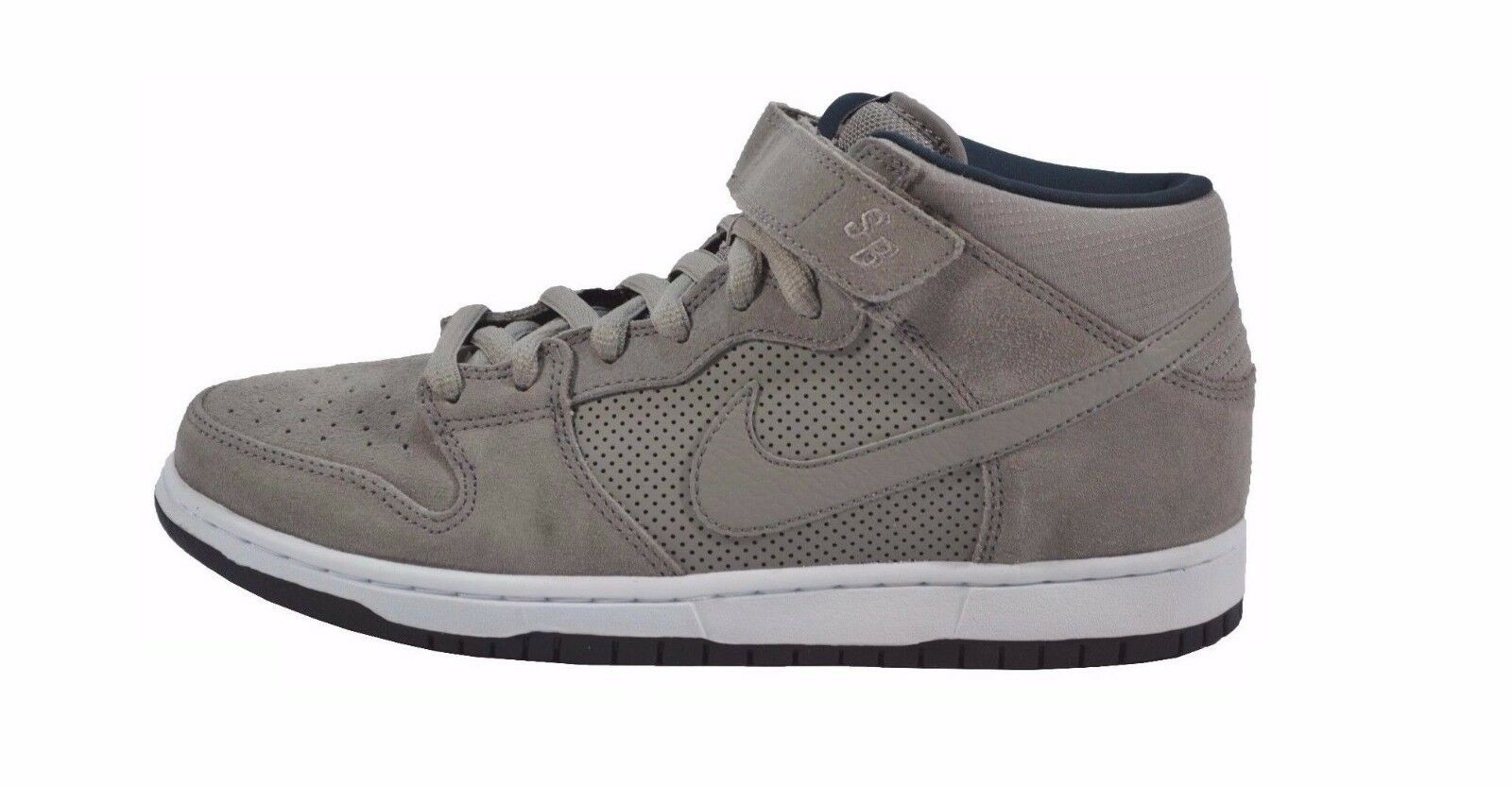Nike DUNK  MID PRO SB Sport  DUNK Gris  blanc Skateboarding Discounted (219) homme chaussures fe1357