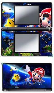 Details About Mario Vinyl Skin Aufkleber Für Nintendo Ds Lite Réf 1 De
