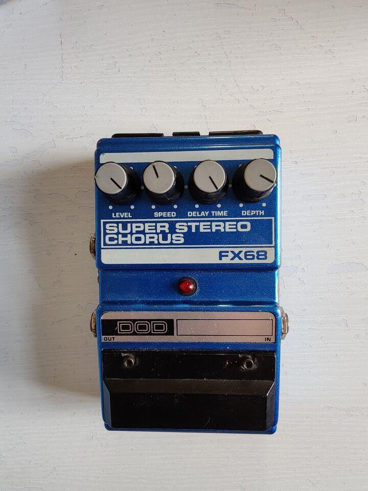 DOD FX68 Super Stereo Chorus, DOD FX68 Super Stereo Chorus
