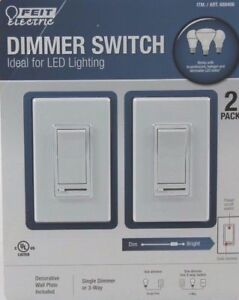 Details about Feit Electric Dimmer Switch Ideal for LED Lighting - on