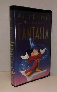 Walt Disney S Masterpiece Fantasia Vhs 1991 Black Diamond Classic 717951132031 Ebay