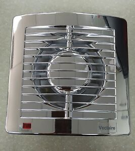 Vectaire as10htcr chrome humidistat timer extractor fan bathroom image is loading vectaire as10htcr chrome humidistat timer extractor fan bathroom aloadofball Choice Image